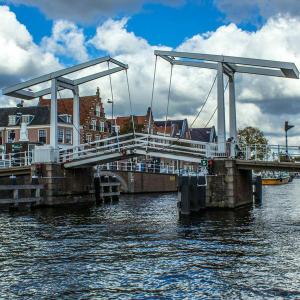 Brug over het Spaarne Haarlem